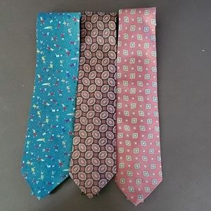 3 ISACO TIES FOR $12.00